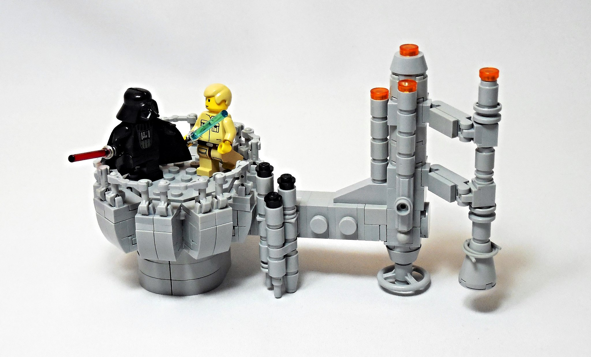 LEGO® MOC by Vitreolum: Bespin Duel