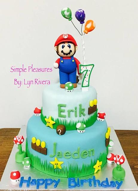 Super Mario Cake by Lyn Eugenio-Rivera