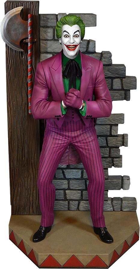 Tweeterhead【小丑】1966 蝙蝠俠電視影集 The Joker 1/6 比例全身雕像作品