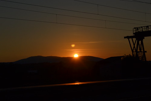 outdoor sunrise mountain sun station nature sky nikon d3100 dslr