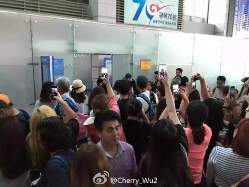 more BIGBANG arrival Shenzhen 2015-08-07 (2)