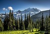 Mt. Rainier from Sunrise by R. Kent Squires