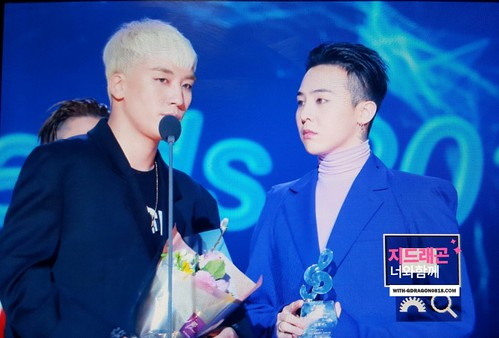 Big Bang - The 5th Gaon Char K-Pop Awards - 17feb2016 - With G-Dragon - 15