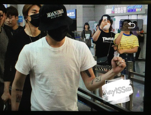 BIGBANG Departure Seoul Incheon to Foshan 2016-06-10 (134)