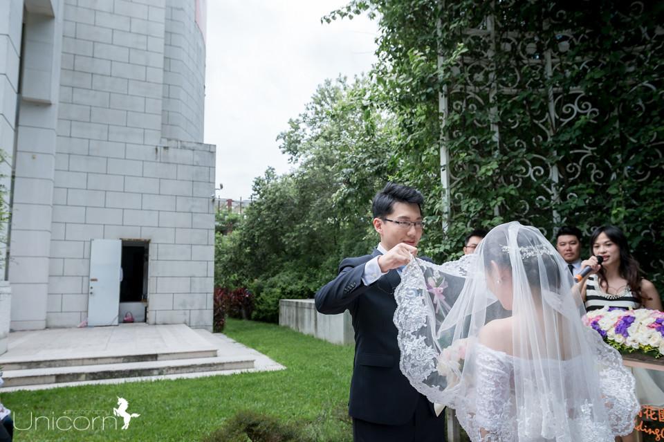 《婚攝一条》詔雄 & 靜嫣 / 中僑花園