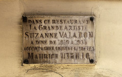 Photo of White plaque number 39485