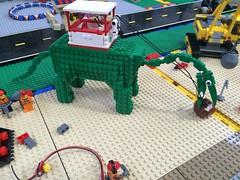 Dinosaur Crane