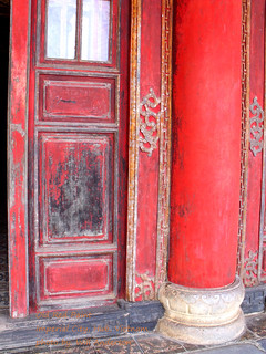 Old Red Paint - Imperial City - Huế - Hue - VIETNAM