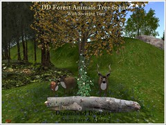 DD Forest Animals Tree Scene_001a