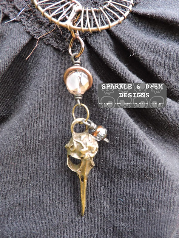 Steampunk Necklace 02c