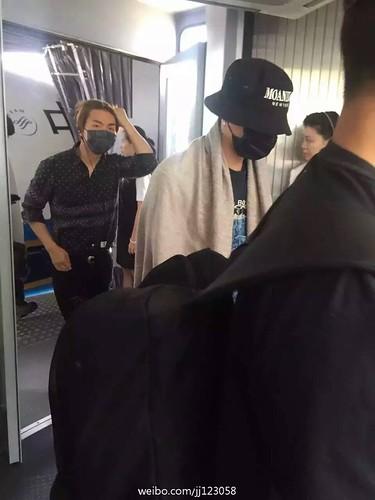 BIGBANG Arrival Nanning 2016-06-12 (2)