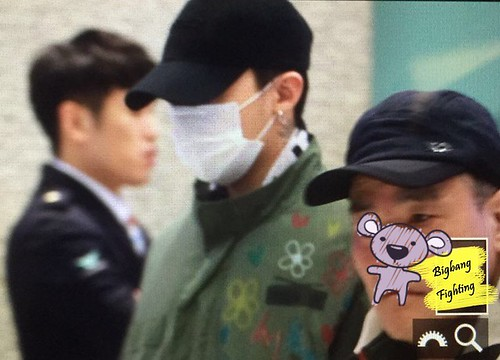 Big Bang - Incheon Airport - 27mar2016 - BigbangFighting - 12