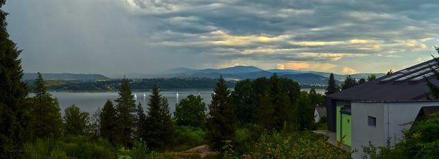 Zywiec Lake & stormy clouds