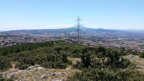 A view of Oreokastro and Paleokastro