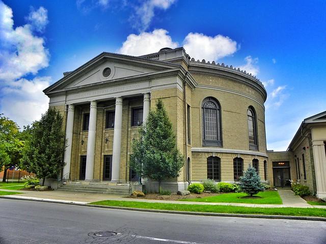 Syracuse New York ~ Syracuse Federal Credit Union  AKA ~ First Church of Christ Scientist