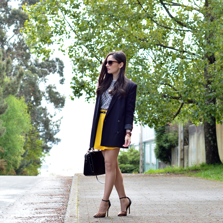 Zara_ootd_outfit_yellow_animal_print_blazer_05