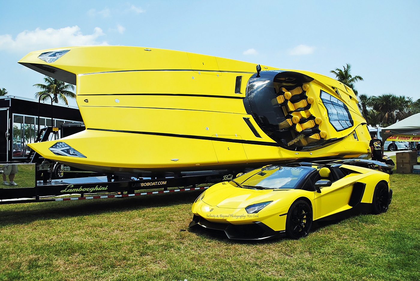 Lamborghini Aventador And Powerboat Replica Flickr