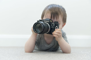 Photographer in Training