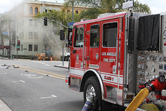 Natural Gas Leak Forces Hollywood Evacuations
