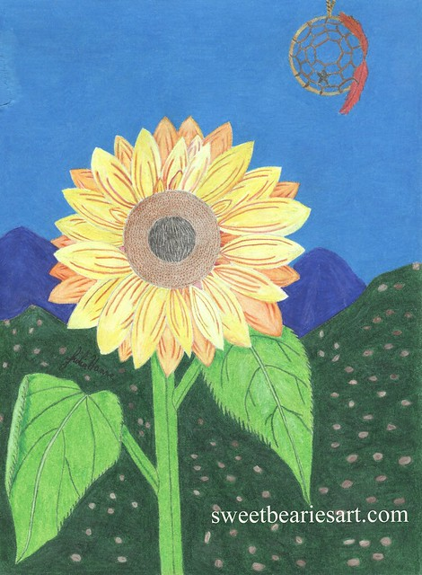 The Sunflower And The Dreamcatcher
