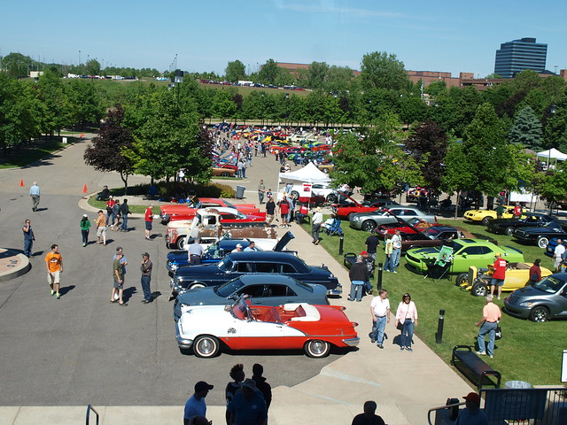Chrysler Employees Motorsports Association Show 2015