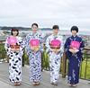 『海街Diary』4姉妹が浴衣姿で鎌倉凱旋