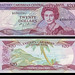 (XCD5a) 1988  Eastern Caribbean States, Anguilla, Eastern Caribbean Central Bank, Twenty  Dollars (A/R)...