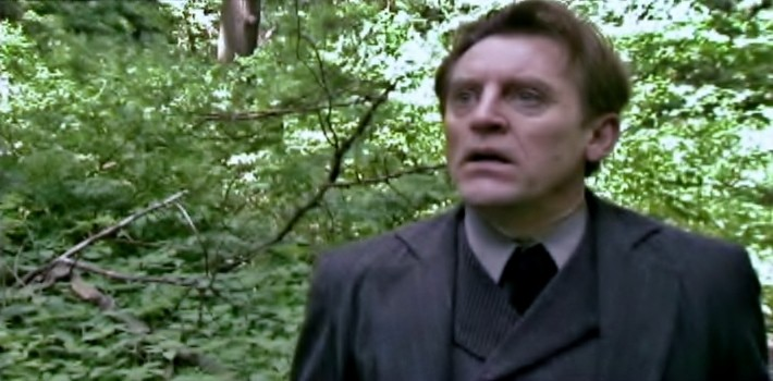 Gordon Joseph Weiss as Theo Film production still The Eyes of Van Gogh Barnett