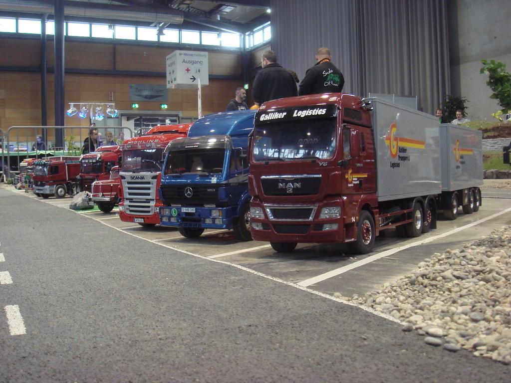 Roland Menzi's Trucks