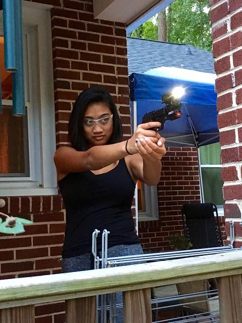 target practice with a bb gun