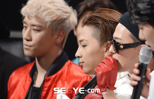 Big Bang - Mnet M!Countdown - 07may2015 - Segye - 10