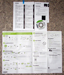 Epson WF-4630 Included Documentation