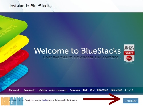BlueStacks - Instalación
