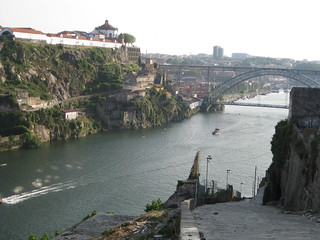 Desembocadura Río Duero, Oporto, Portugal