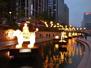 The River Walk at Cheonggyecheon