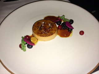 Foie Gras – Seared with Chanterelles and Plums