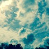 Fluffy #clouds