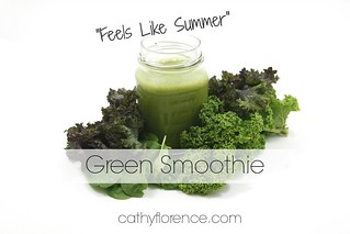 Feels Like Summer Green Smoothie Recipe