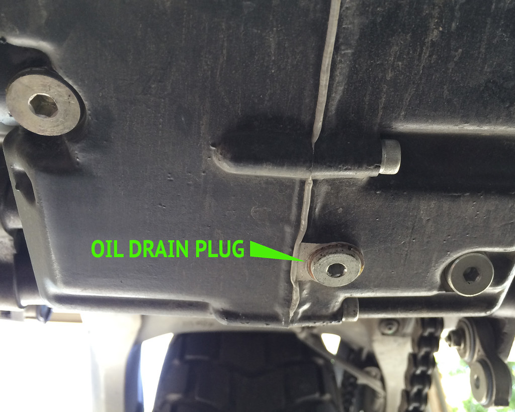 Changing your own oil walkthrough - Ducati Scrambler Forum