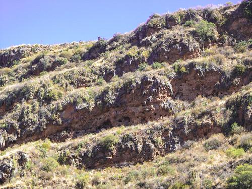 Pisac: des tombes incas
