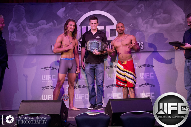 WFC 55 July 15th,2016 Weigh-Ins at Eastside Cannery