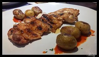 Restaurante Lavaca verano - Pollo marinado al horno