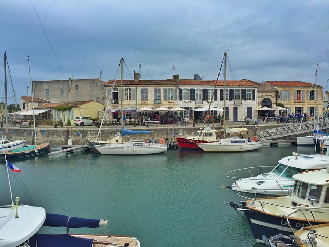 Puerto de Saint-Martin-de-Ré (Isla de Ré, Francia)