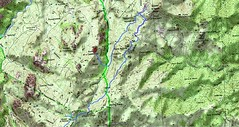 Carte du Jour 2 des bergeries de Renosu au monastère ND de l'Assunta Gloriosa