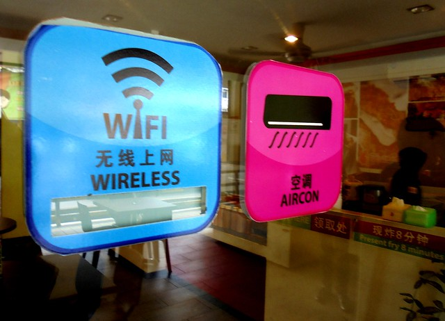 Wifi and aircon