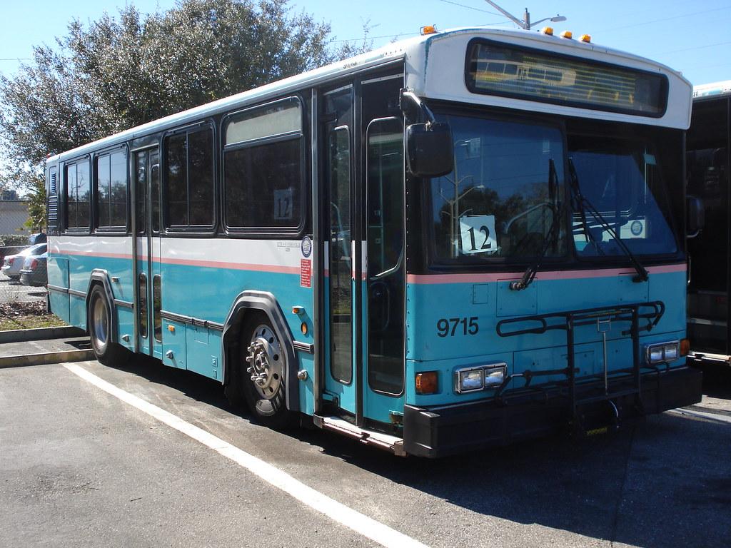 Ex Palm Tran in Gainesville Regional Transit System