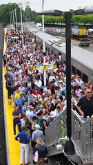 LIRR Customers at Belmont Stakes