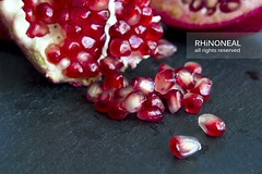 [pomegranate seeds on slate low res]