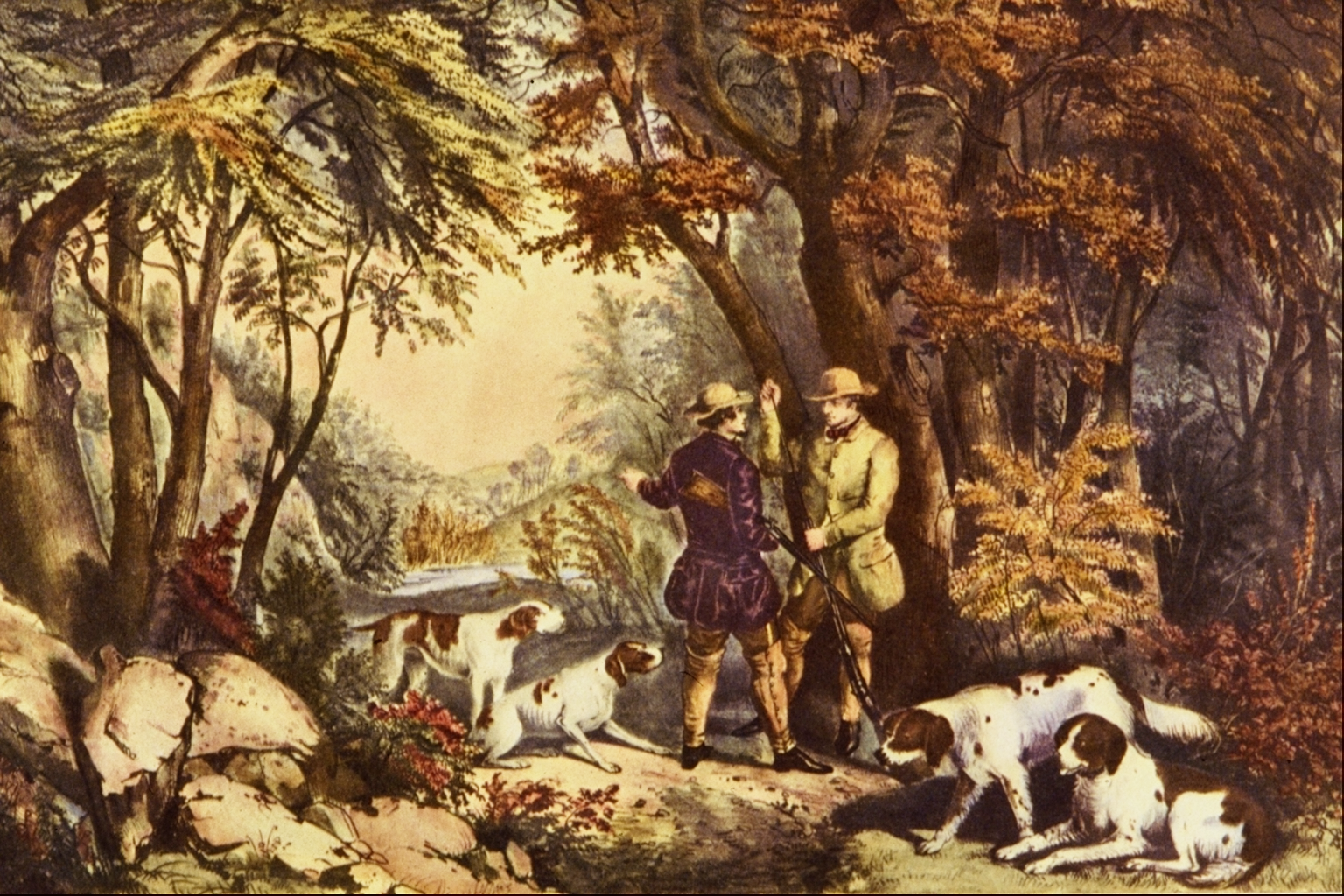Morning in the Woods, 1835
