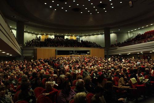 Salle comble pour ce Nouvel an 2012.